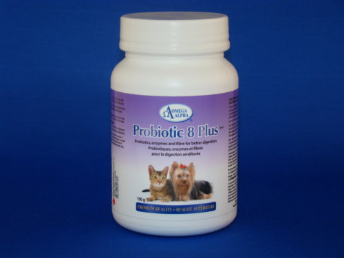 Alpha Omega Pet probiotics